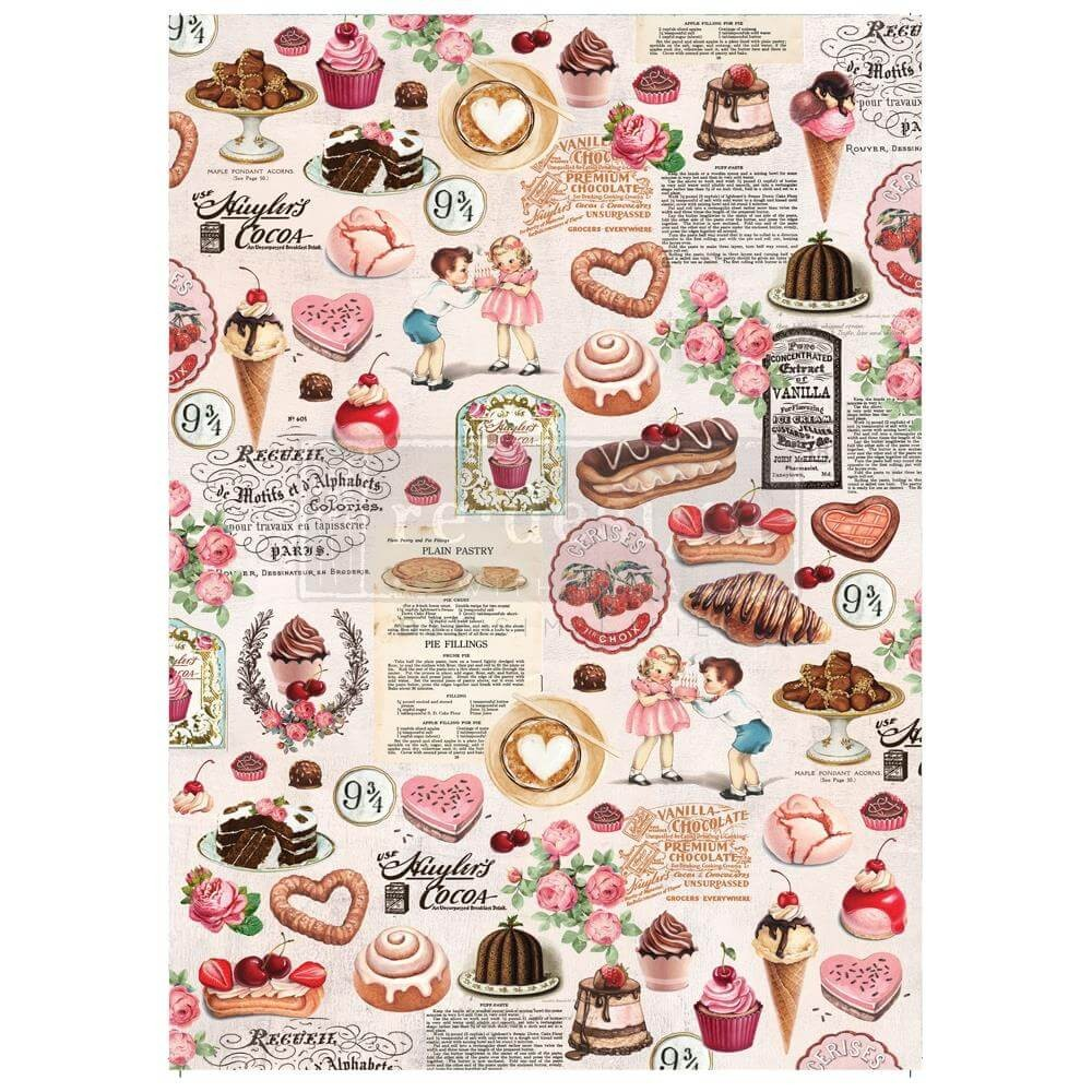 Papel Estampado Mulberry Re Design Super Decadent