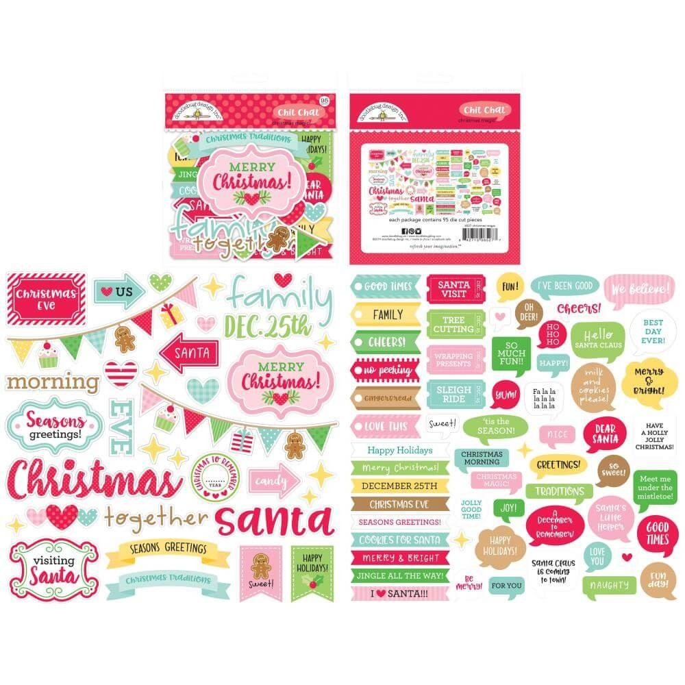 Die Cuts Christmas Magic Odds & Ends Chit Chat