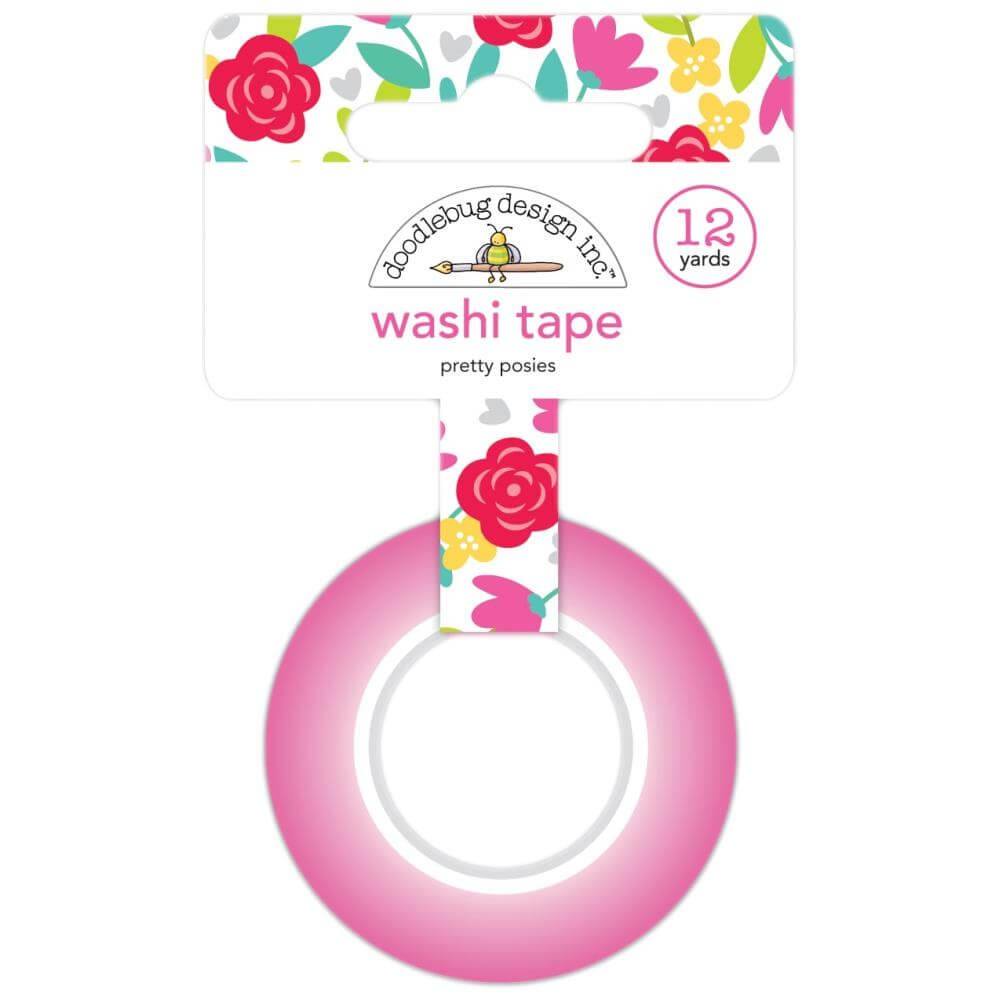 Washi Tape Love Notes Pretty Posies