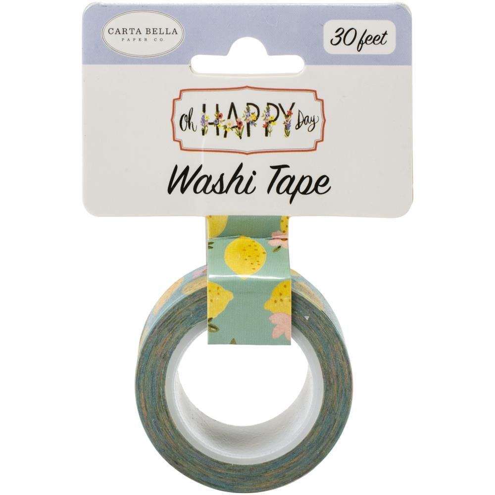 Washi Tape Oh Happy Day Spring Sweet Lemons