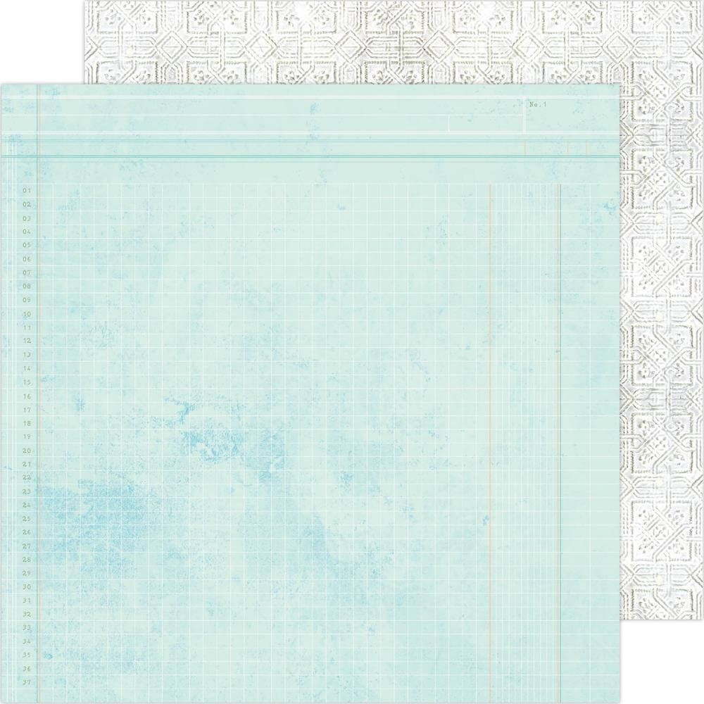 Papel Estampado Doble Cara 12x12 Art Walk Escape