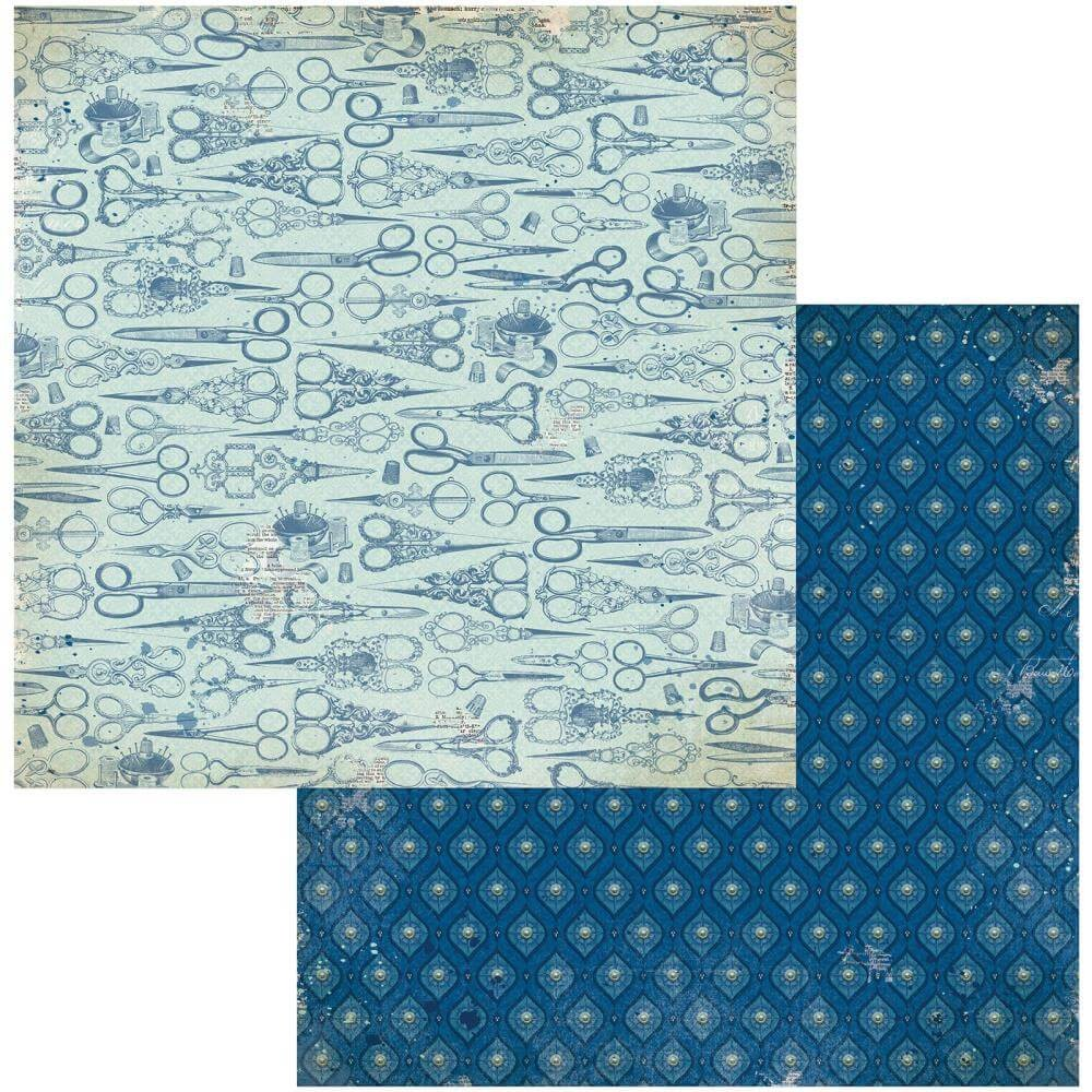 Papel Estampado Doble Cara 12x12 Family Heirlooms Heritage