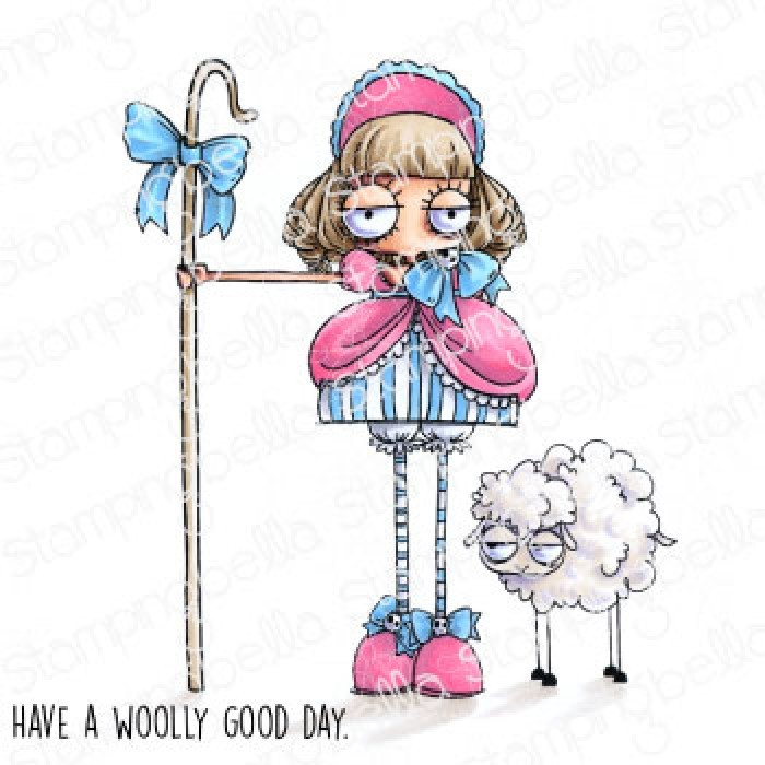 Sello de Caucho Oddball Little Bo Peep