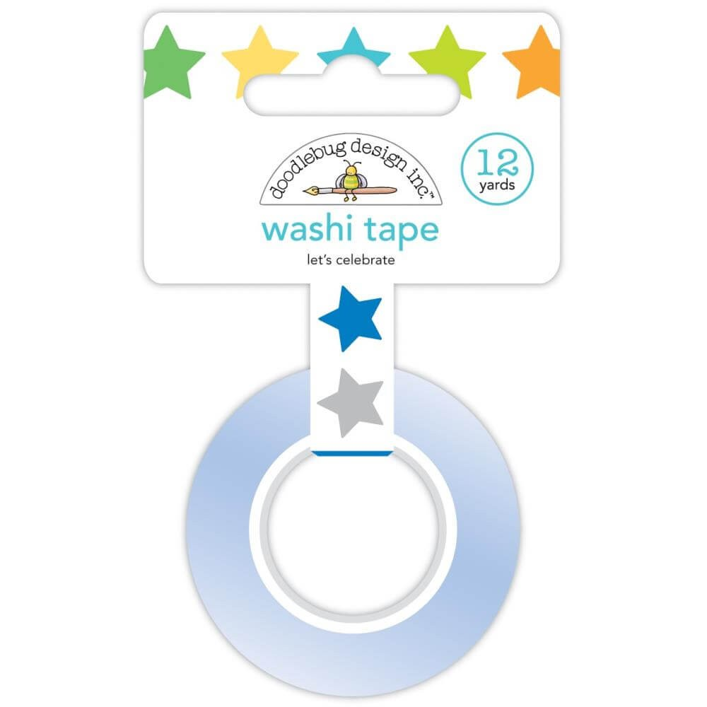 Washi Tape Party Time Let's Celebrate