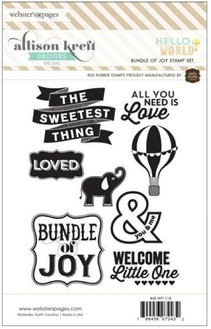 Bundle of Joy Stamp Set