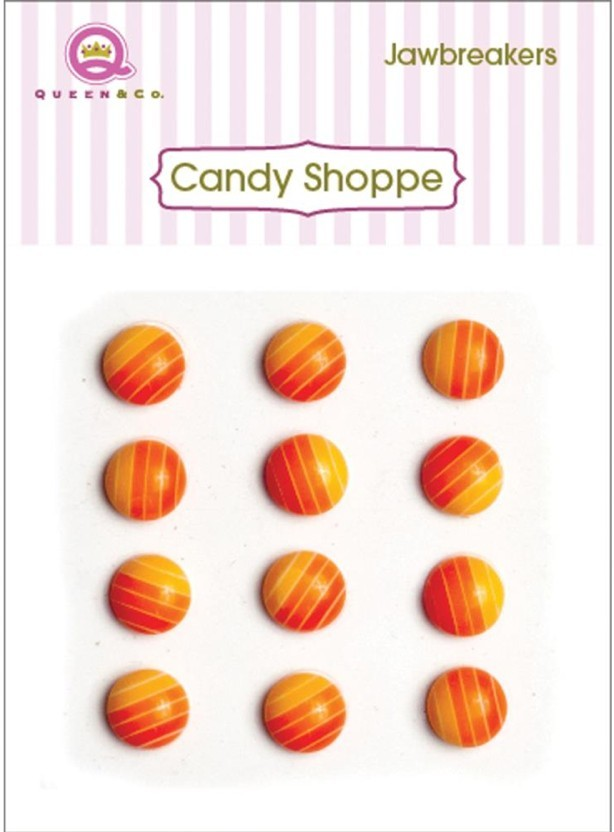 Candy Shoppe Jawbreakers Orange Crush