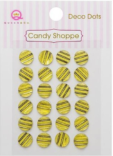 Perlitas Candy Shoppe Deco Dots Yellow