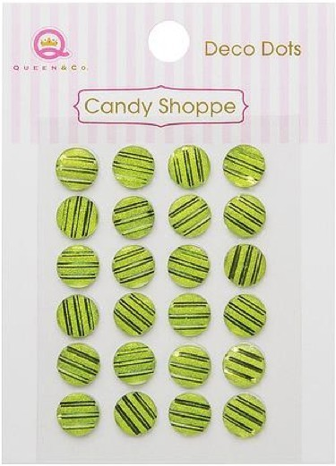 Candy Shoppe Deco Dots Green