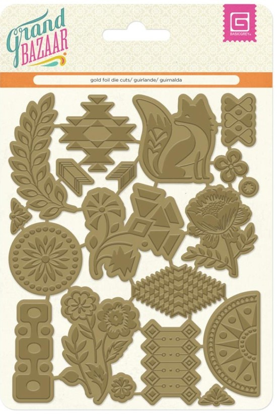 Gold Foil Shapes Gran Bazaar