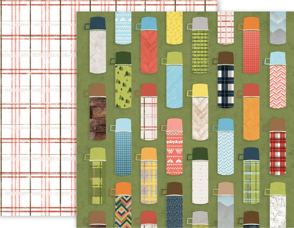 Papel estampado Doble cara 12x12 Outfitters 03 Outfitters