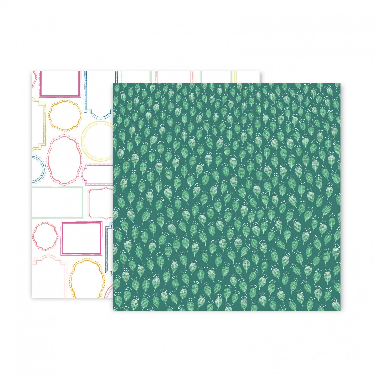 Papel Estampado Doble Cara 12x12 Truly Grateful Paige Evans Paper 22