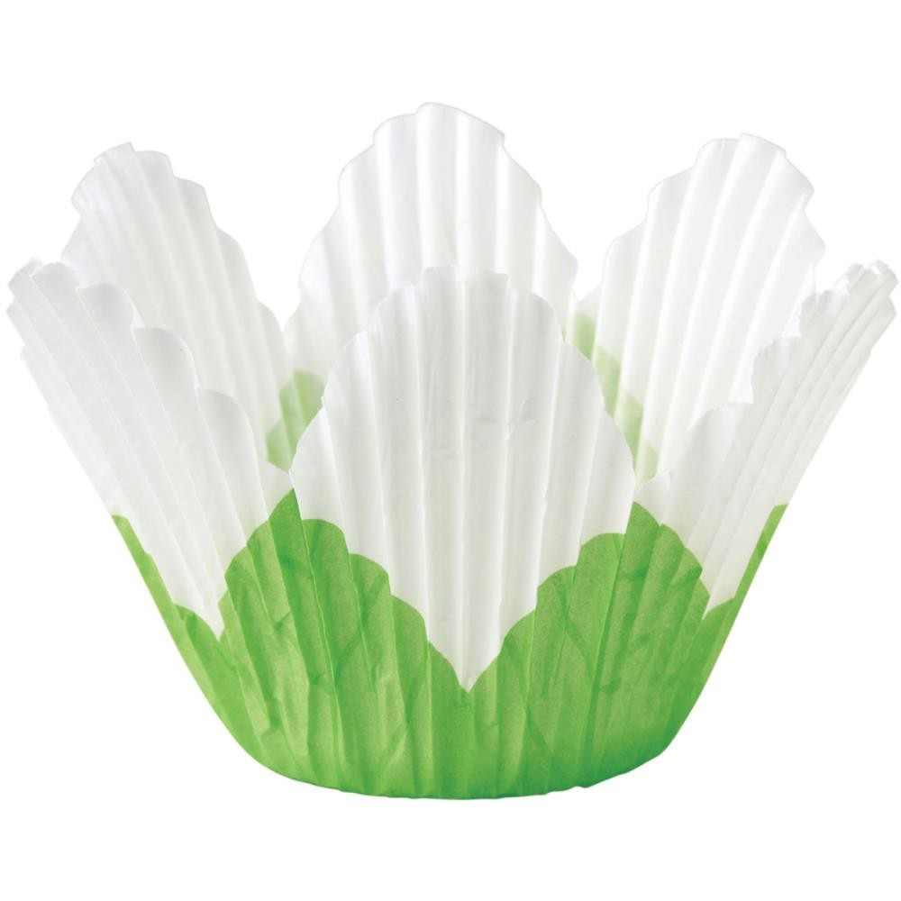 Petal Standart Baking Cups White