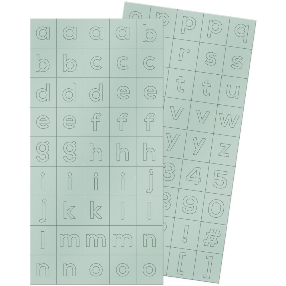 Pegatinas alfabetos Shine Block Stickers -20% DESCUENTO