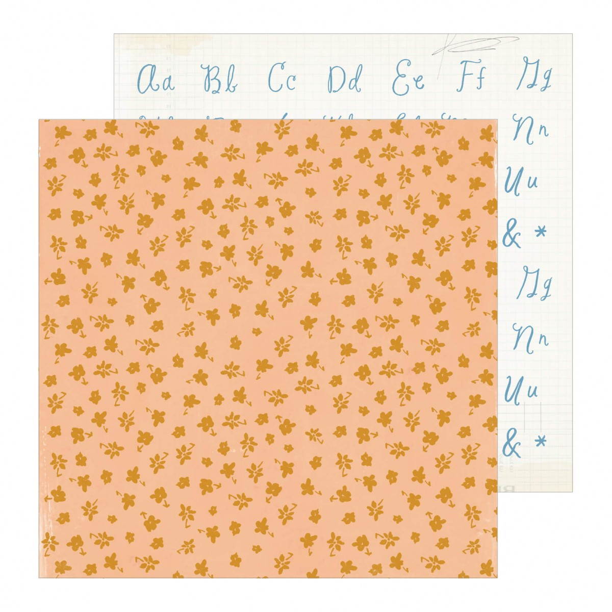 Papel Estampado Doble Cara 12x12 Maggie Holmes Heritage Daughter