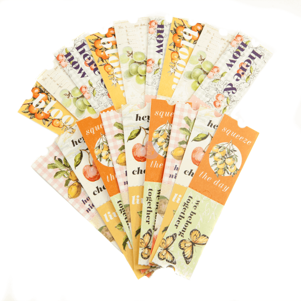 Die Cuts Fruit Paradise Tickets