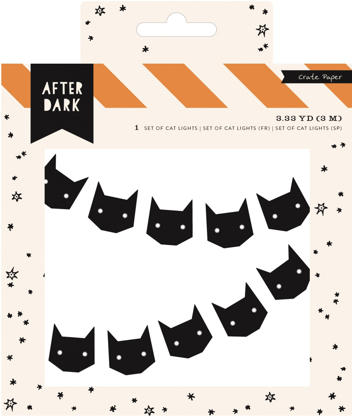 Black Cats Set of cat Lights -50% DESCUENTO