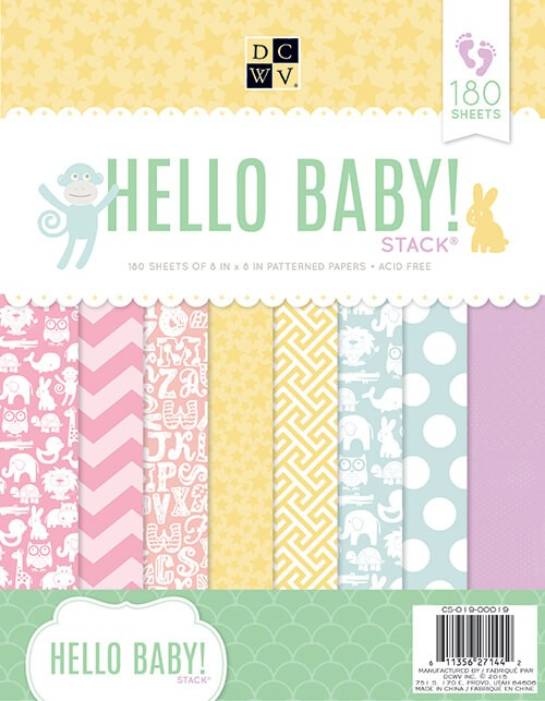 Stack 180 Papeles 8,5x11 The Hello Baby!