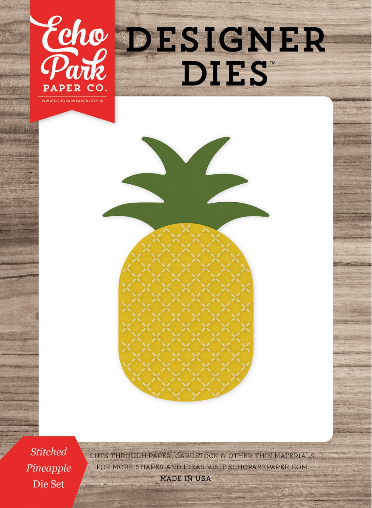 Troquel Stitched Pineapple