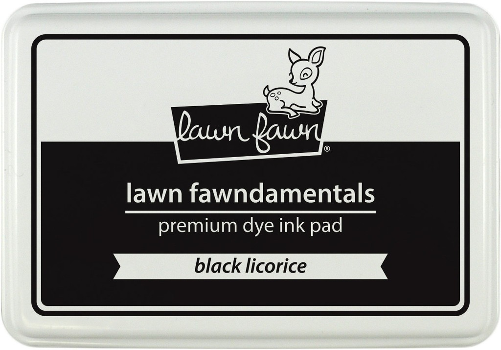 Tinta Lawn Fawndamentals Black Licorice