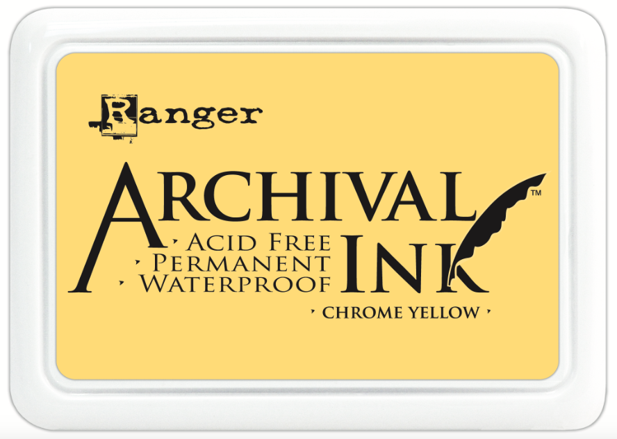 Tinta Archival Ink Chrome Yellow