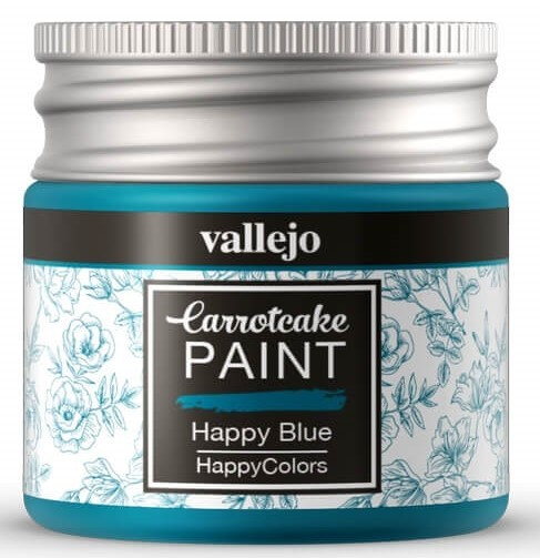 Pintura acrílica Carrotcake   Happy Blue