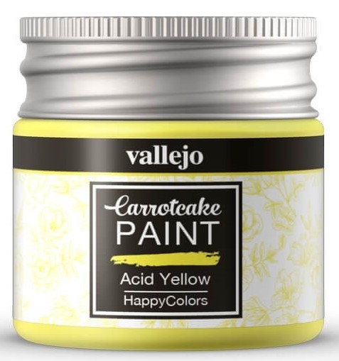 Pintura acrílica Carrotcake   Acid Yellow