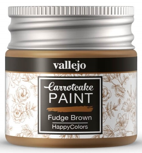 Pintura acrílica Carrotcake   Fudge Brown