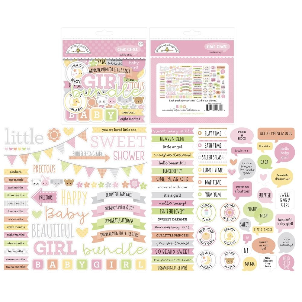 Die Cuts Bundle Of Joy DO Chit Chat