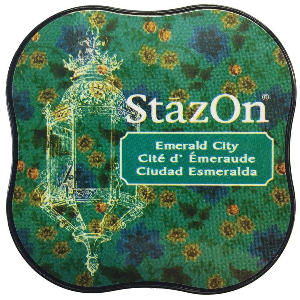 Tinta StazOn Midi Emerald City