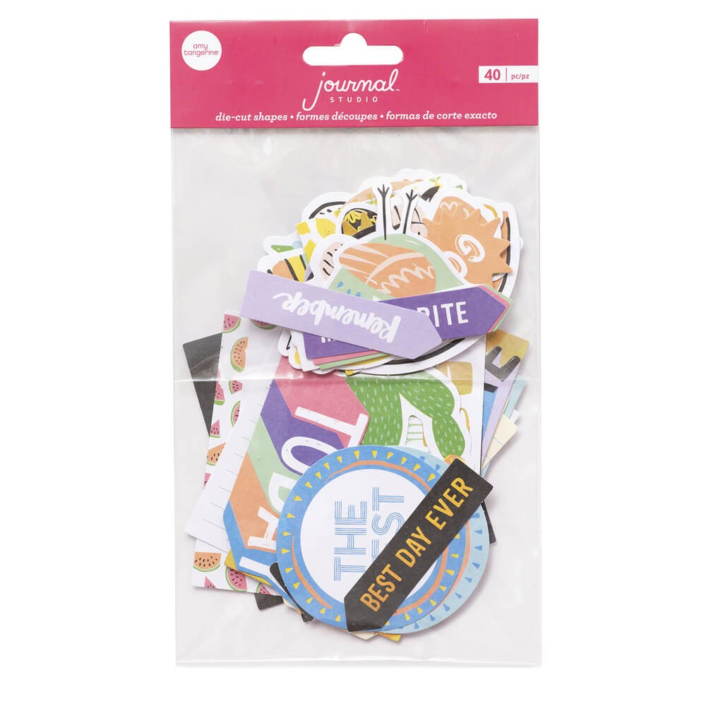 Die Cuts Journal Studio Best Day Ever By Amy Tangerine