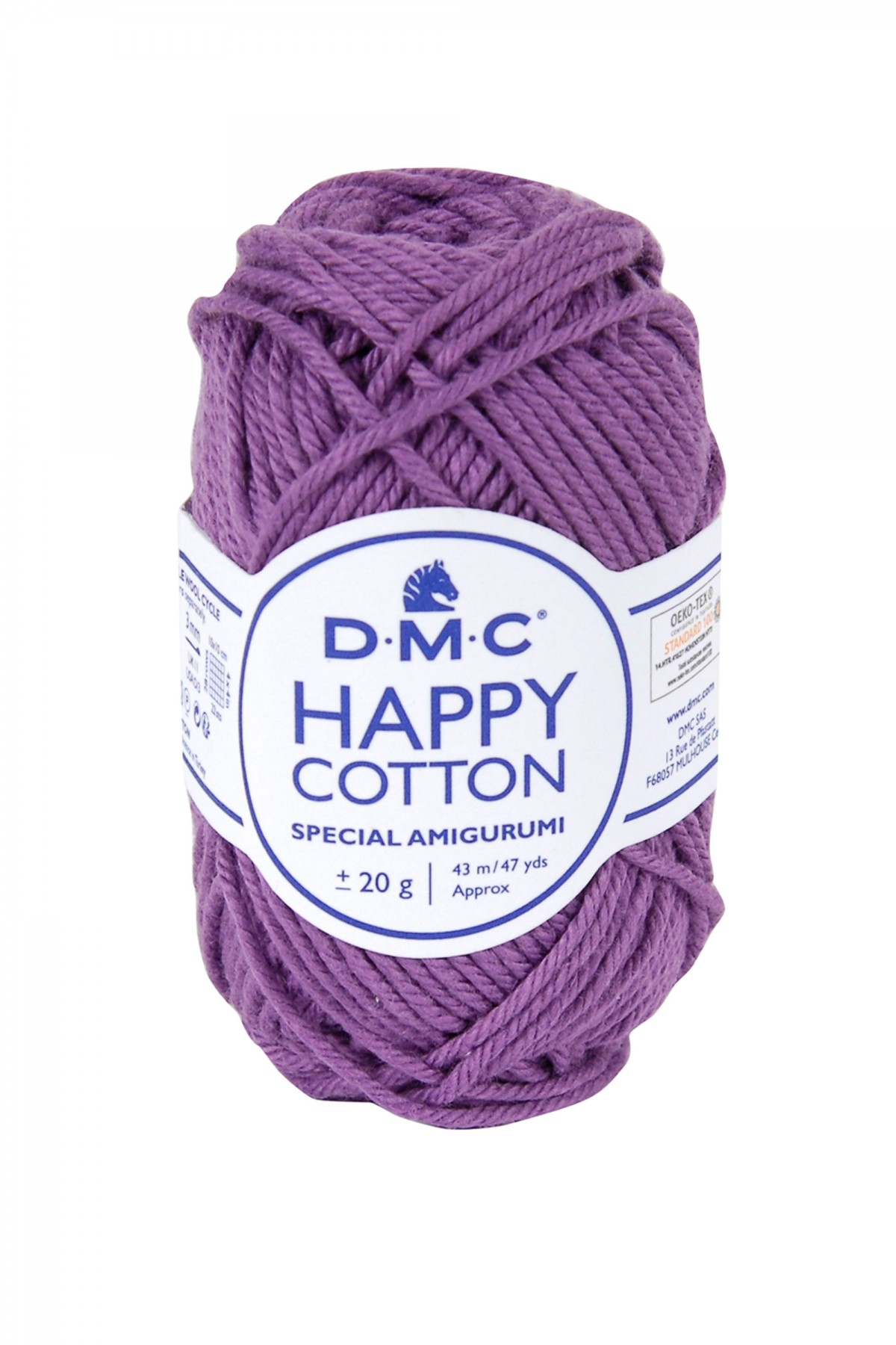 Hilo para amigurumis de algodón DMC Happy Cotton 756