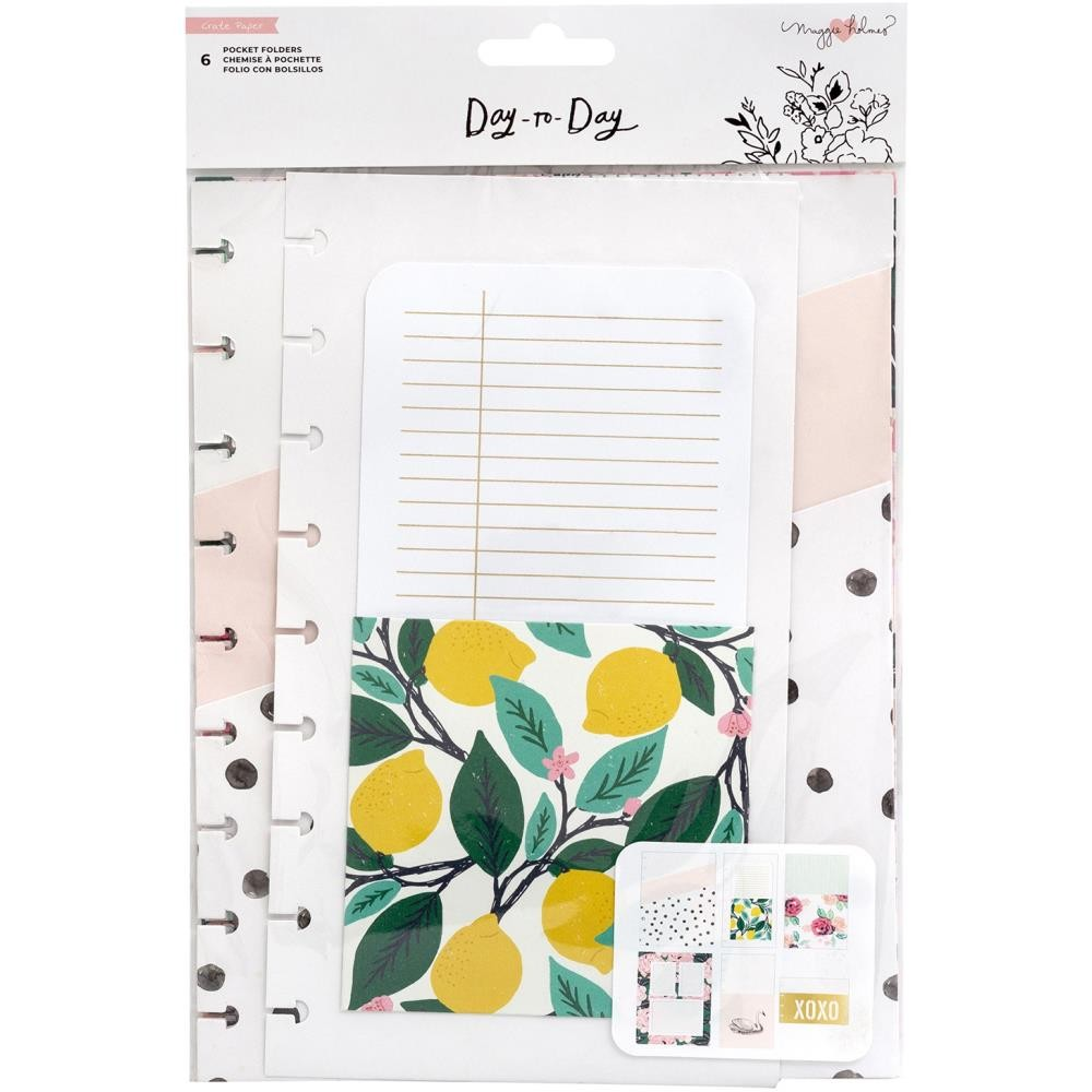 Inserto para Agenda Day to Day Maggie Holmes Gold Foil