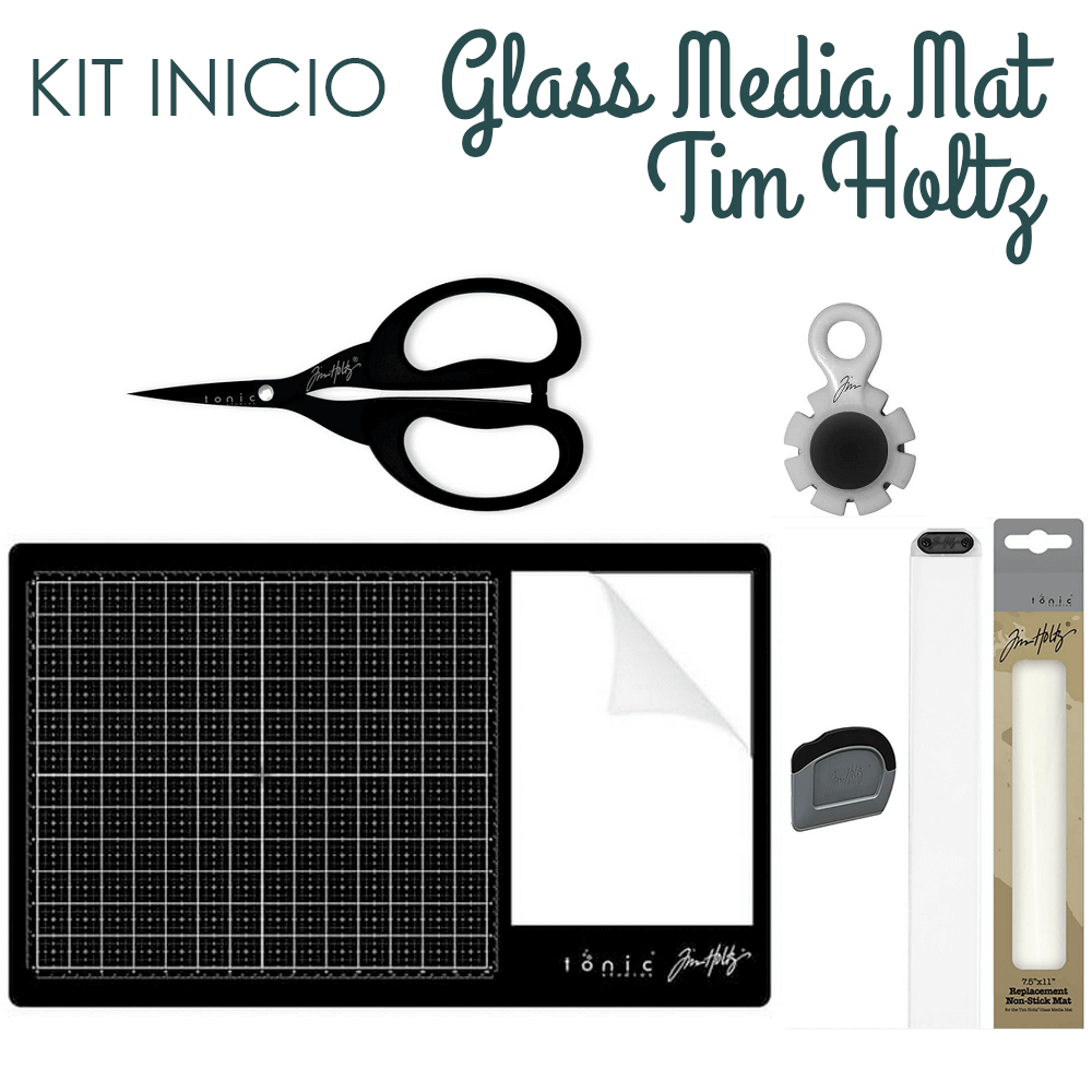 Kit Inicio Glass Mat Tim Holtz