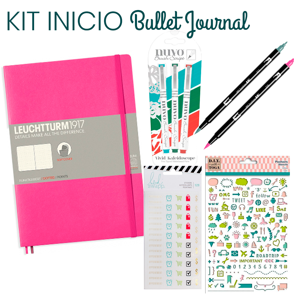 Kit Inicio Bullet Journal