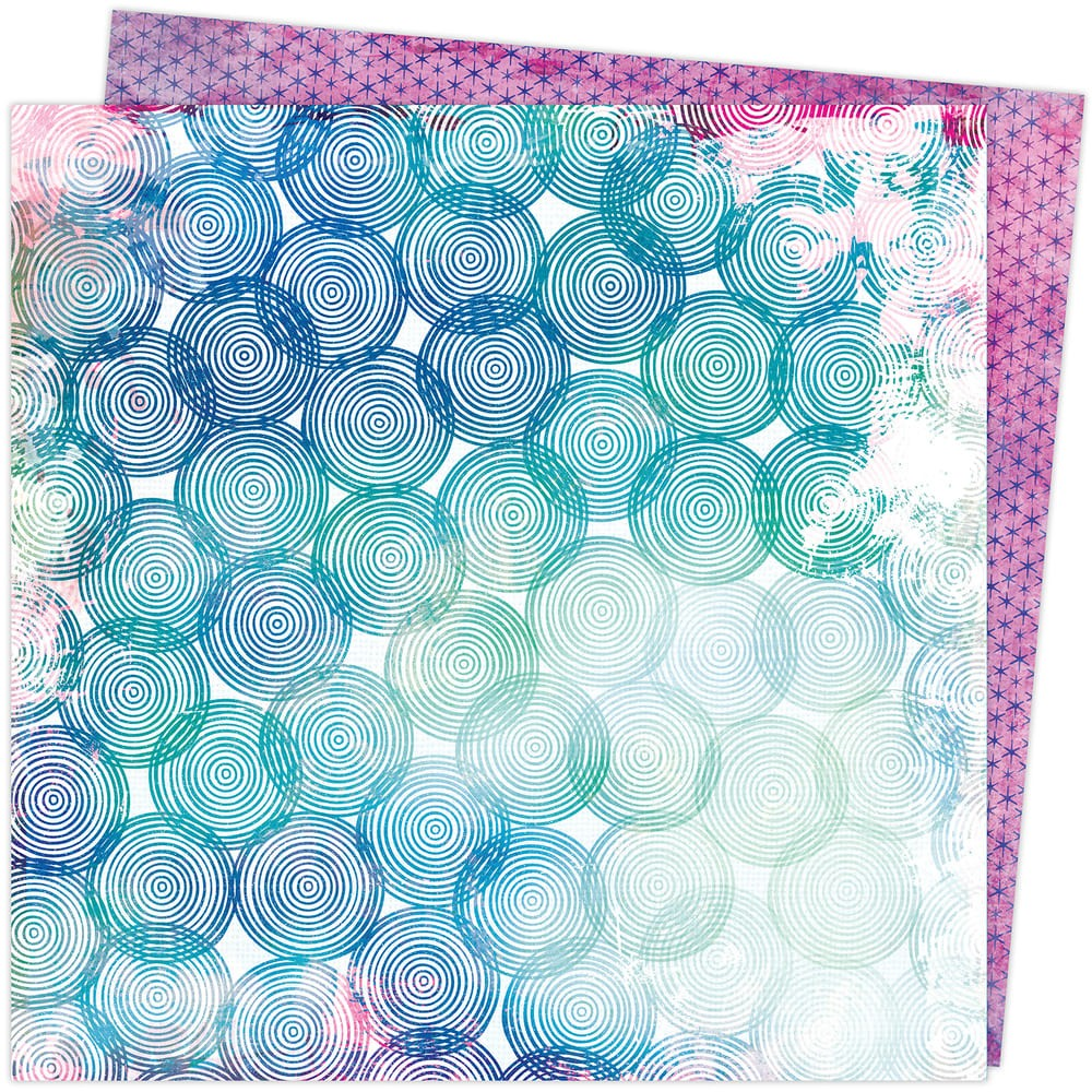 Papel Estampado Doble Cara 12x12 Color Study Vicki Boutin Spheres