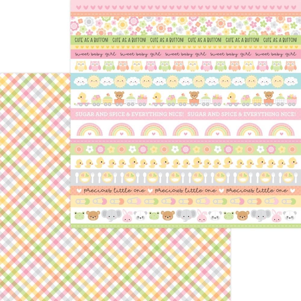 Papel Estampado Doble Cara 12x12 Bundle Of Joy DO Blankie