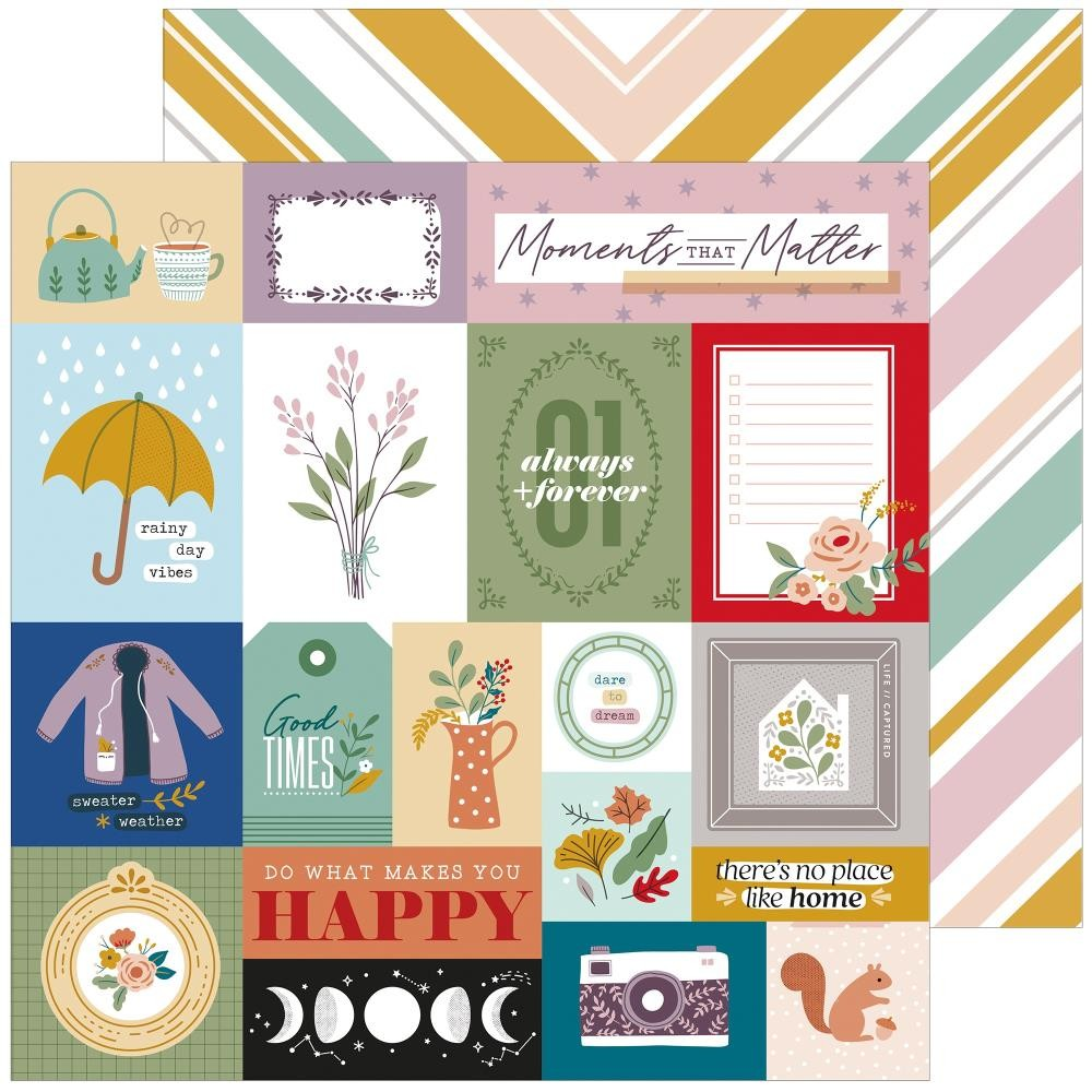 Papel Estampado Doble Cara 12x12 Days Of Splendor Moments That Matter