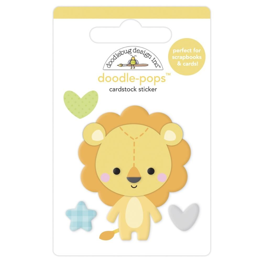 Pegatinas 3D Special Delivery DO Lovable Lion
