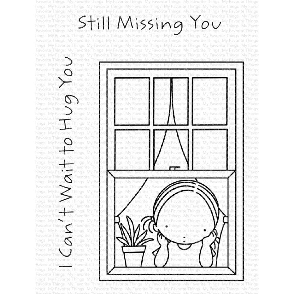 Sello Acrílico 3x4 My Favorite Things Missing You