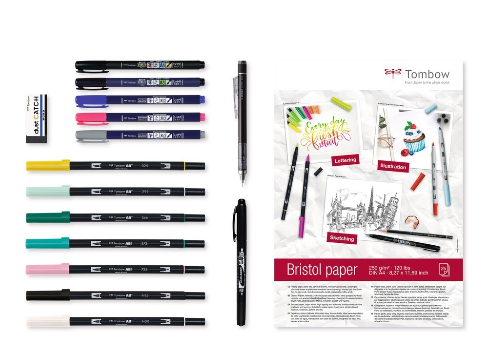 Set Rotuladores Tombow Have Fun @ Home Lettering