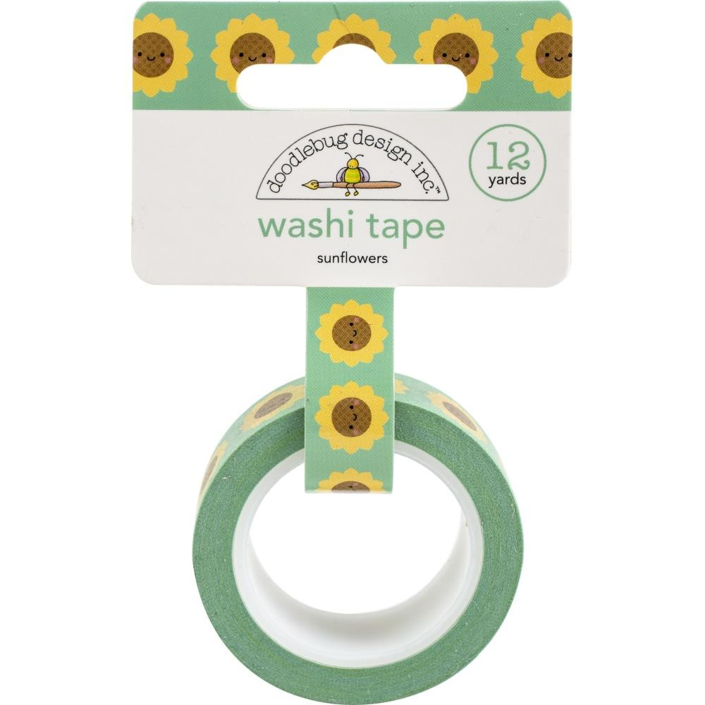 Washi Tape Sunflowers