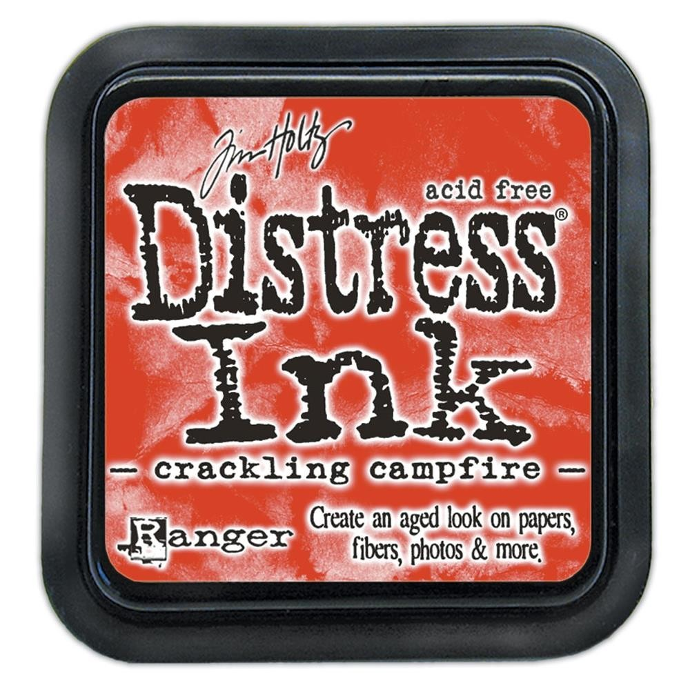Tinta Distress ink Crackling Campfire