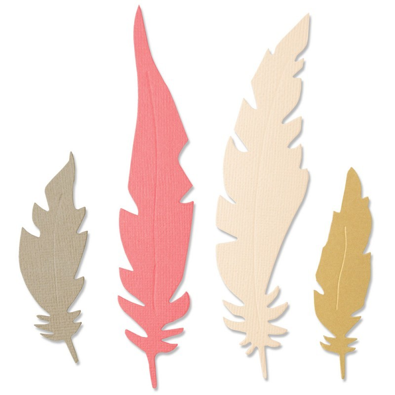 Troquel Bigz Natural Feathers by Jenna Rushforth