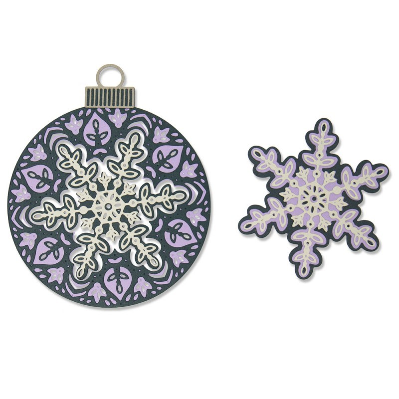 Troquel Thinlits Layered Snowflake by Jessica Scott