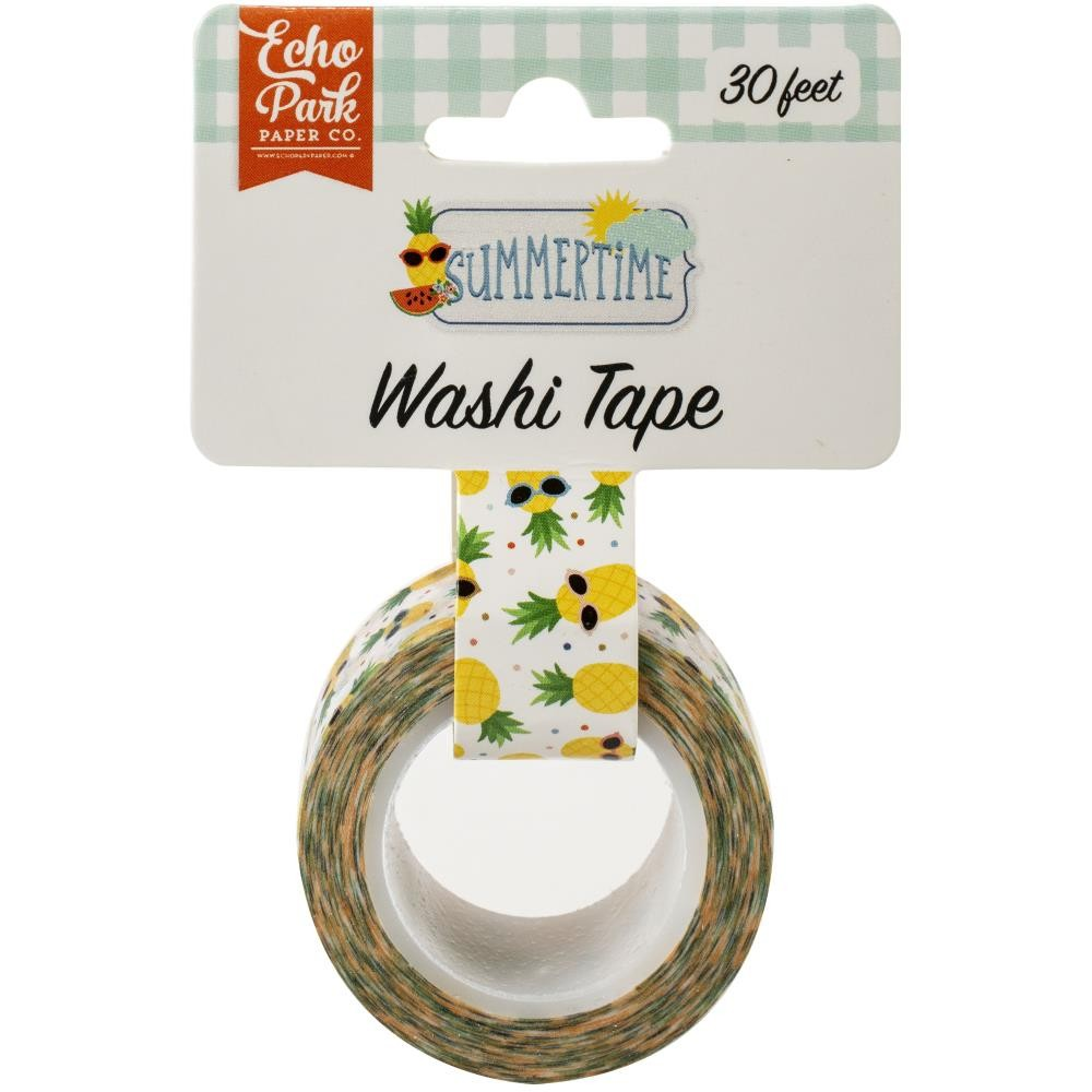 Washi Tape Summertime Cool Pineapples