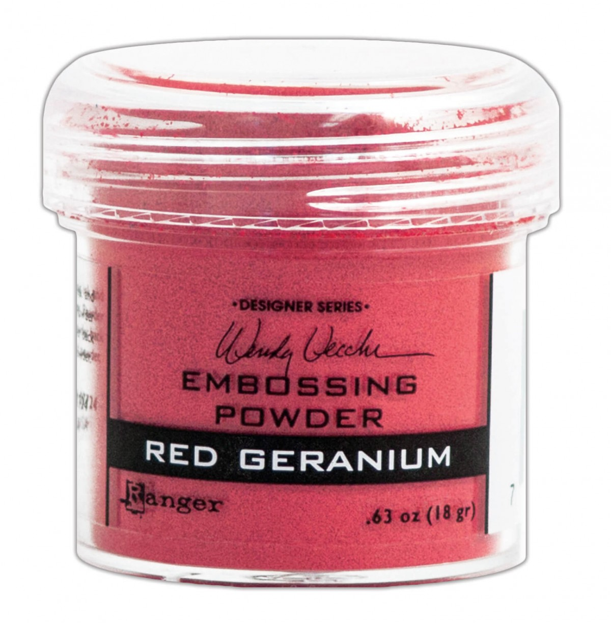 Polvos de Embossing Red Geranium