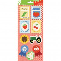Heartland Farm Dimensional Stickers