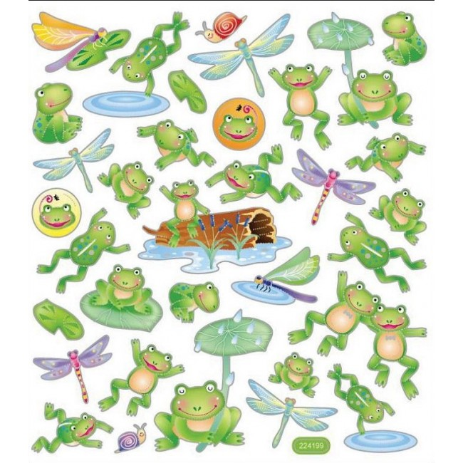 Leap Frogs Stickers