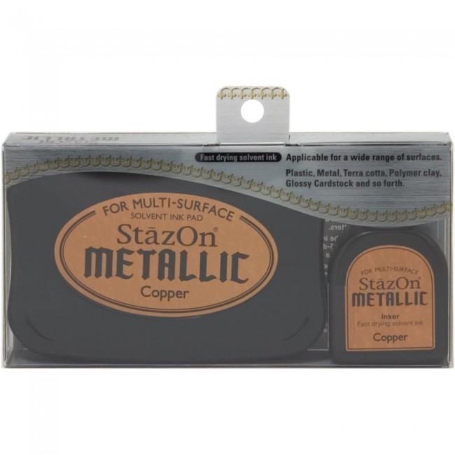 Tinta Stazon Metallic Copper