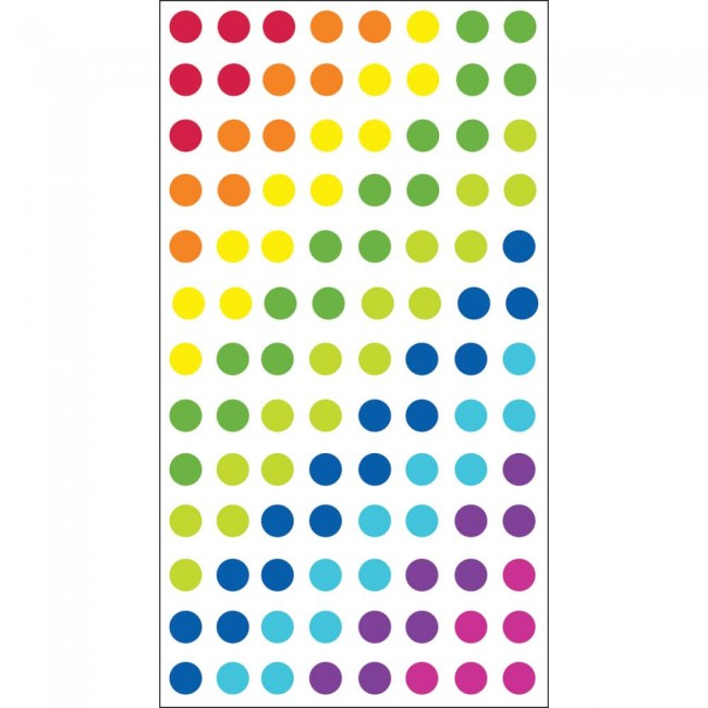 Dots - Brights Stickers